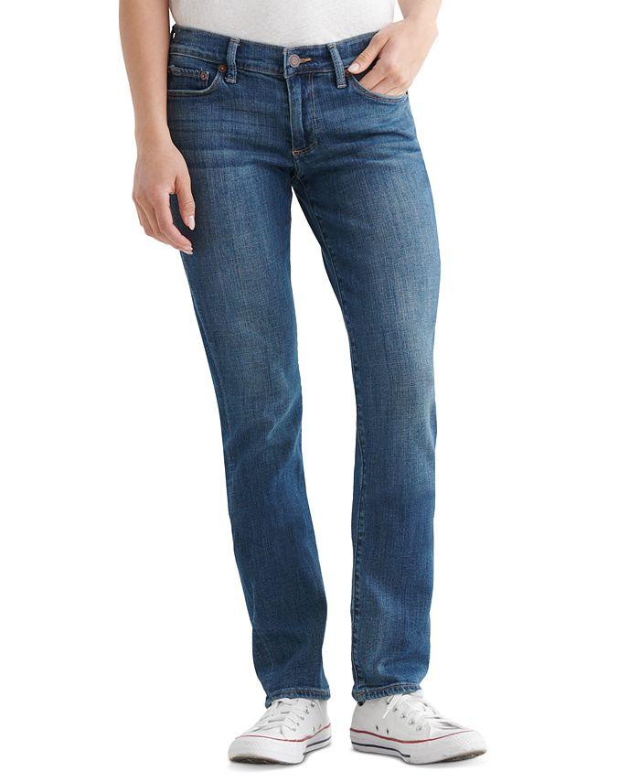 Lucky Brand - Sweet 'N Straight Straight-Leg Jeans, Tanzanite Wash