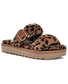 Koolabura By UGG® Women's Furr-Ah Cheetah Slipper Sandals