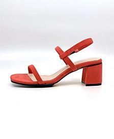 Women's Simple Block Heel Dress Sandals