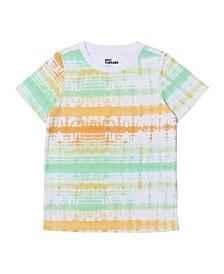 Little Boys Short Sleeve All Over Print T-shirt