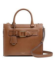 Agnes Street Medium Leather Satchel