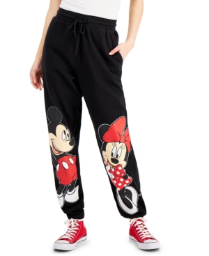 Juniors' Mickey & Minnie Jogging Pants
