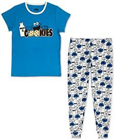 Women's Cookie Monster Family Pajama Set