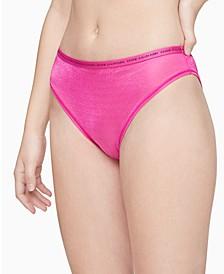 Women's CK One Glisten High-Leg Tanga Underwear QF6525