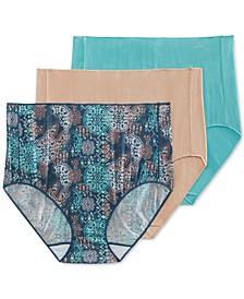 Womens' 3-Pk. No Panty Line Promise® Tactel® Brief Underwear 1877