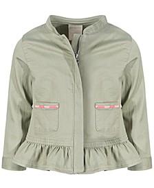 Baby Girls Peplum Jacket, Created for Macy's
