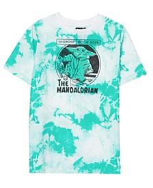 Big Boys Yoda Tie Dye Short Sleeve Graphic T-shirt