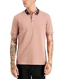 Men's Deluga Collar-Logo Polo Shirt, Created for Macy's
