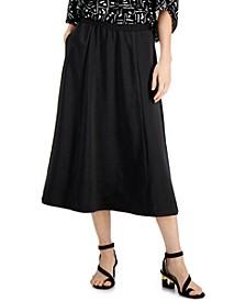 Pull-On Midi Skirt, Created for Macy's