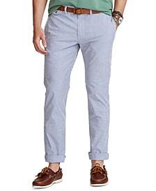Men's Classic-Fit Seersucker Pants