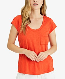 Scoop-Neck T-Shirt