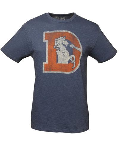 '47 Brand Men's Denver Broncos Retro Logo Scrum T-Shirt