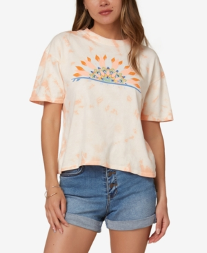 O'neill Juniors' Cotton Graphic T-shirt In Apricot