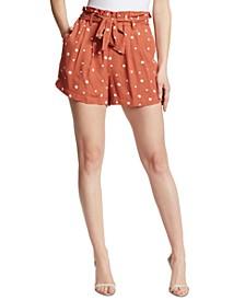 Polka Dot Paperbag Shorts