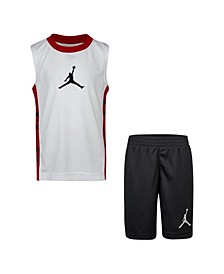 Little Boys Tank Top and Shorts Set