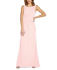 Drape-Back Gown