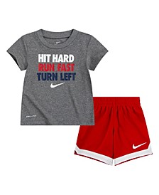 Toddler Boys Dri-Fit Shorts Set, 2 Piece