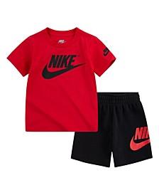 Little Boys Shorts Set, 2 Piece