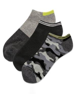 Men's 3-Pk. Camo Half Cushion Low Cut Socks