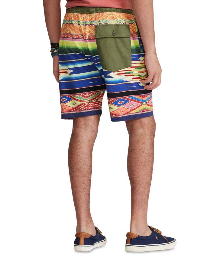 Polo Ralph Lauren Men's 7.5-Inch Serape-Print Mesh Shorts & Reviews - Shorts - Men - Macy's