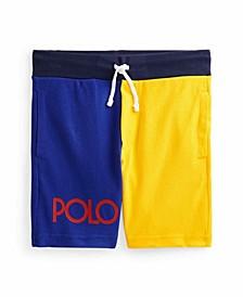 Little Boys Color-Blocked Shorts