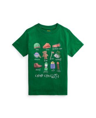 폴로 랄프로렌 남아용 반팔티 Polo Ralph Lauren Toddler Boys Graphic T-shirt,Athletic Green