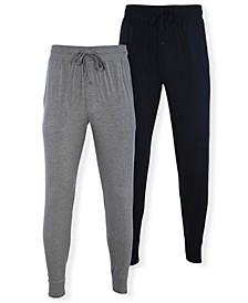 Men's Big Knit Joggers, Pack of 2