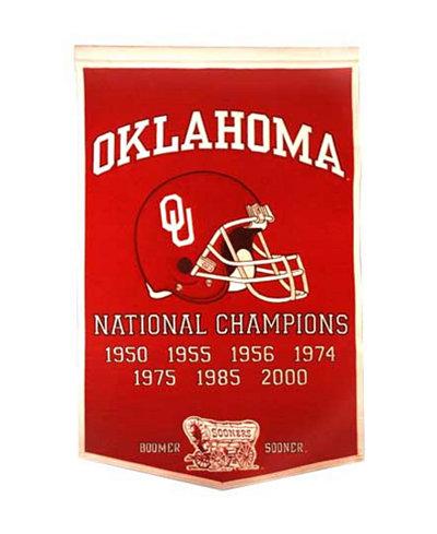 Winning Streak Oklahoma Sooners Dynasty Banner