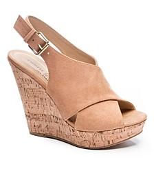 Women's Myya Cork Wedge Sandal
