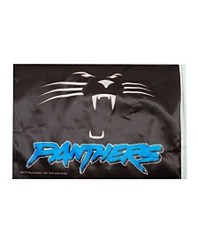 Rico Industries  Carolina Panthers Car Flag