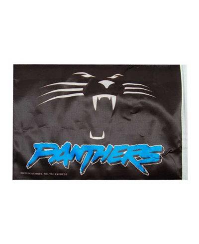 Rico Industries Carolina Panthers Car Flag