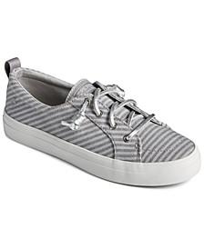 Metallic Striped Crest Vibe Sneakers