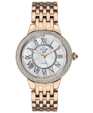 Women's Astor Swiss Quartz Ion Plating Rose Stainless Steel Bracelet Watch 38mm