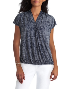 Women's Extended Shoulder Drape Pullover Top