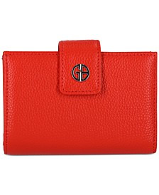 Softy Leather Framed Colorblock Wallet, Created for Macy's