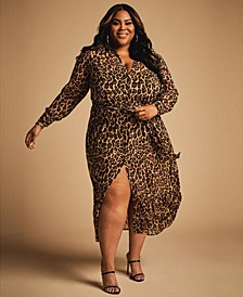 Trendy Plus Size Shirt Dress, Created for Macy's