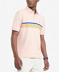 Men's Classic-Fit TH Luxe Roxbury Stripe Polo Shirt