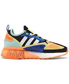Big Kids ZX 2K Boost Casual Sneakers from Finish Line