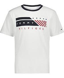 Big Boys Flag Band Short Sleeve T-shirt