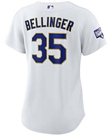 Los Angeles Dodgers Women's Official Gold Replica Player - Jersey Cody Bellinger