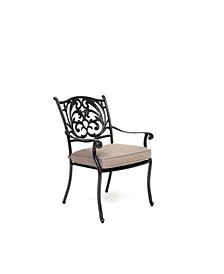 Chateau Outdoor Dining Chair, with Outdura® Cushions, Created for Macy's