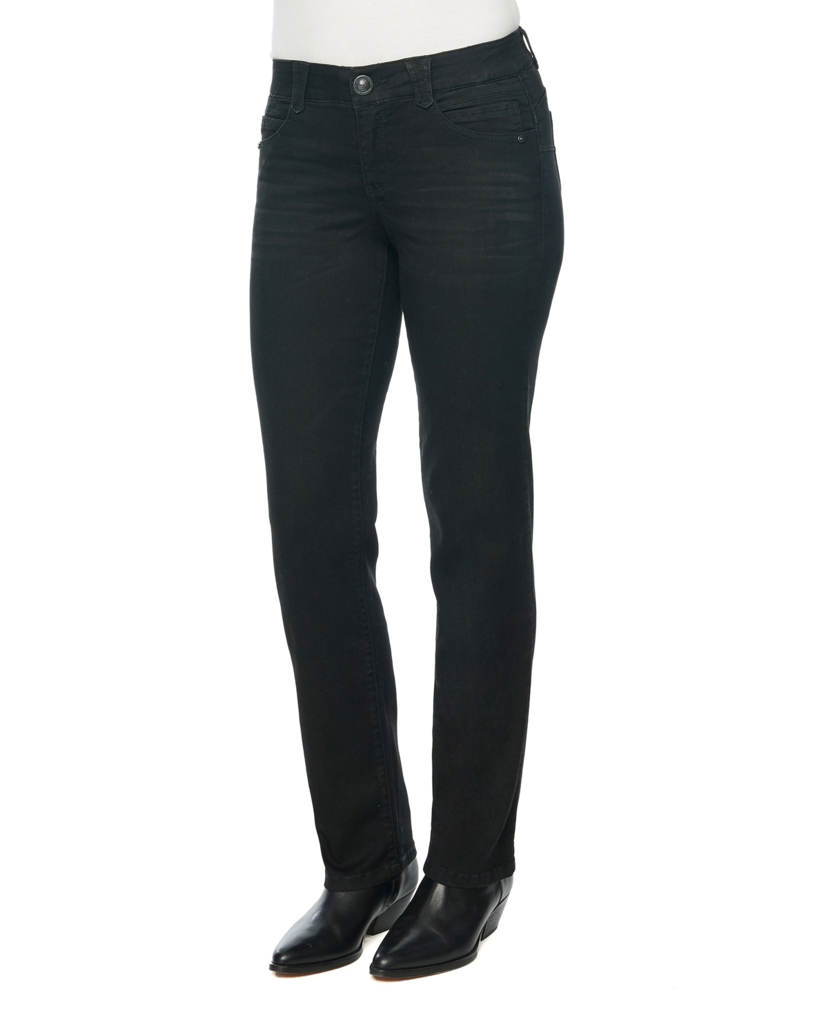 "Women's ""Ab"" Solution Straight Leg Jeans"