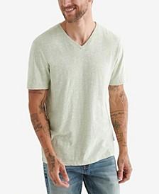 Men's Linen V-Neck T-shirt