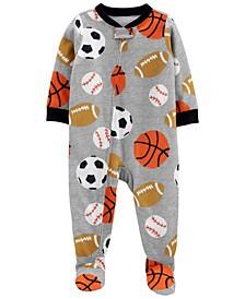 Toddler Boys Loose Fit Footie Pajama