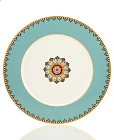Samarkand Mandarin Collection Buffet Plate Aquamarine Charger