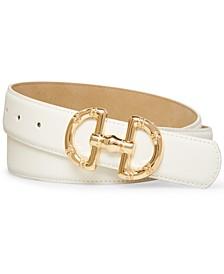 Women's Horse-Bit Buckle Belt