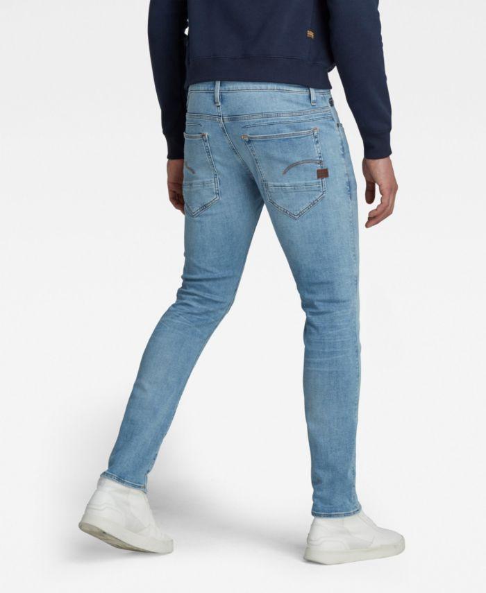 G-Star Raw Men's D-Staq 5 Pocket Slim Jeans & Reviews - Jeans - Men - Macy's