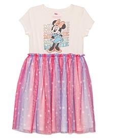 Little Girls Stars, Stripes and Minnie Dress