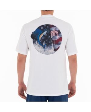 Men's Stars And Sail Short Sleeve Crew Neck T-Shirt