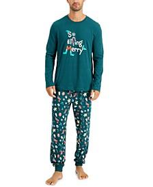 Matching Men's So Elfing Merry Family Pajama Set